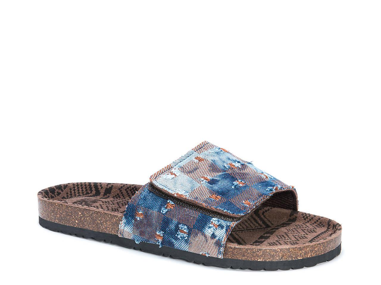 caf811dbd3b Muk Luks Jackson Slide Sandal Men s Shoes