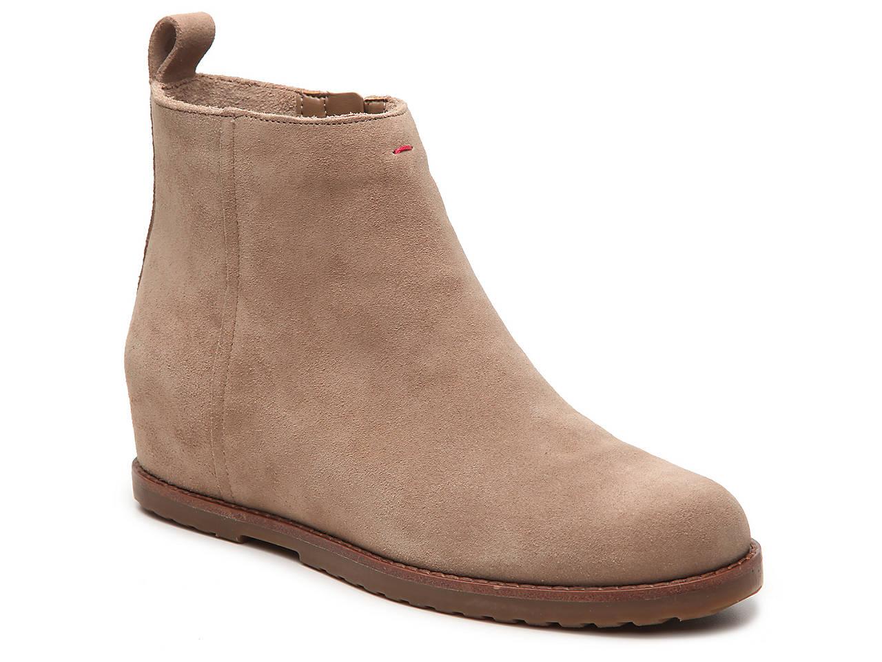 8be1e13a196 ED Ellen DeGeneres Tannor Wedge Bootie Women s Shoes