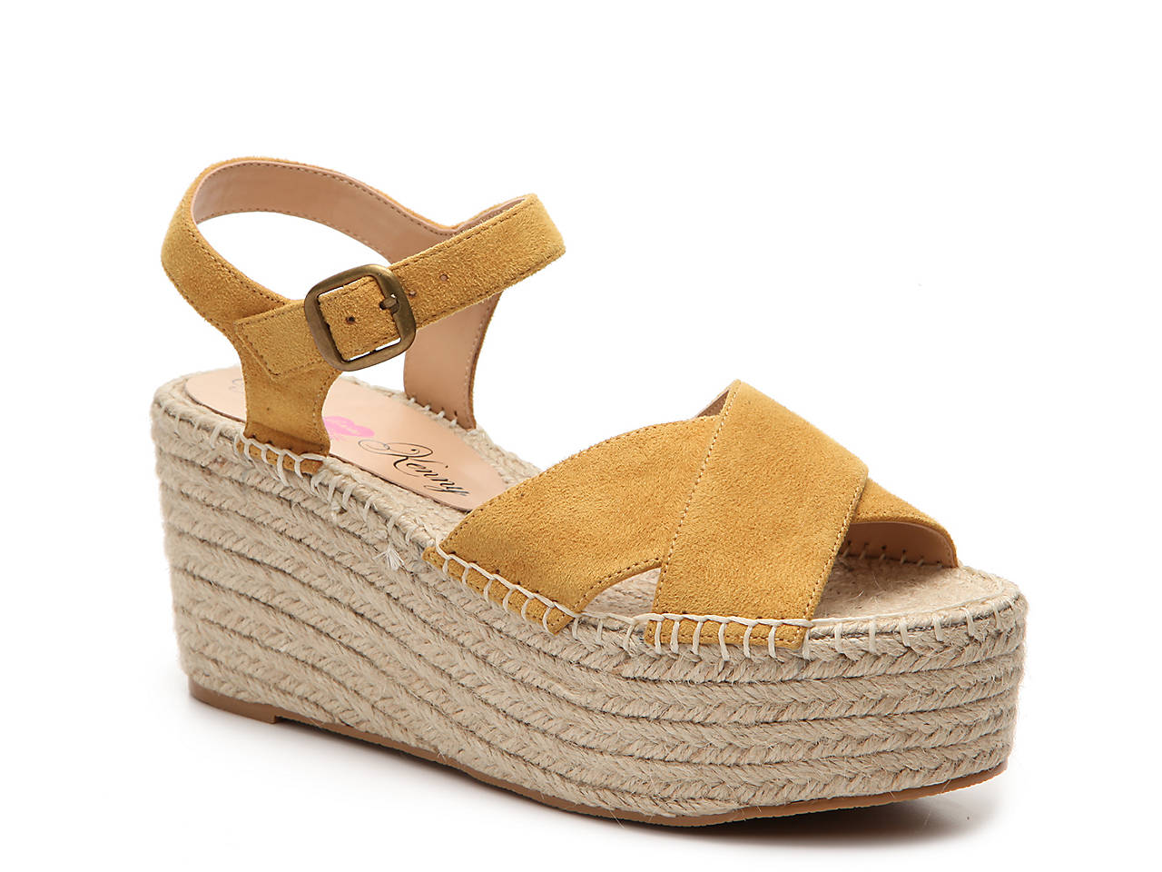 a4bc7097907 Penny Loves Kenny Friend Wedge Sandal Women s Shoes