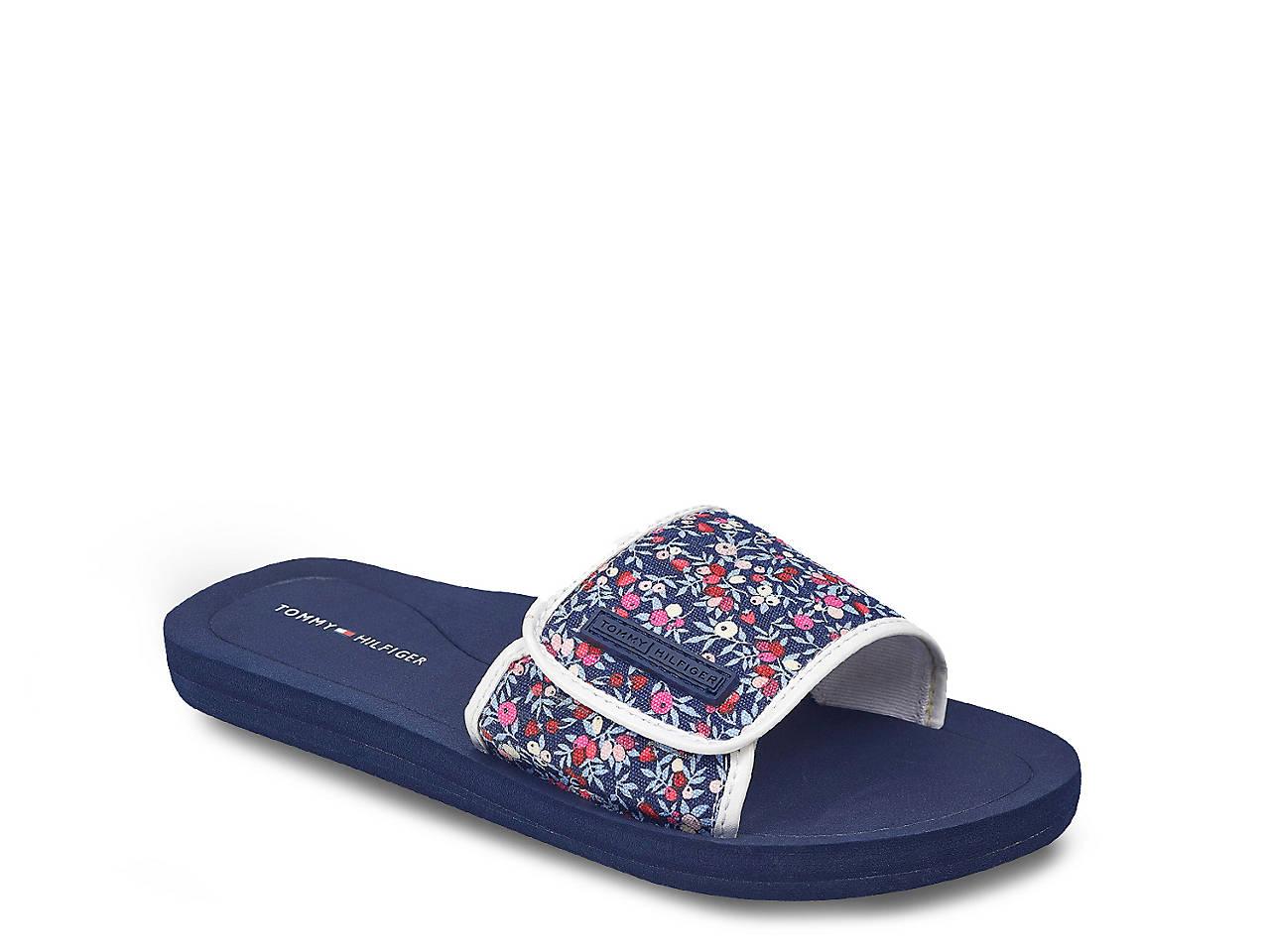 4da9645ae9c4 Tommy Hilfiger Mysha Slide Sandal Women s Shoes