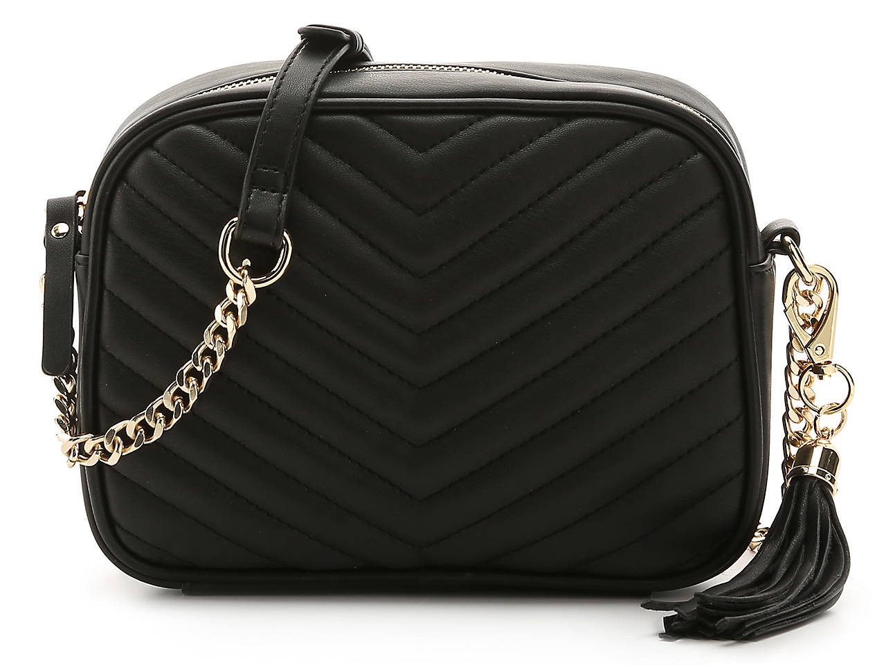 Kate Alex Cuffaro Quilted Chevron Crossbody Bag Womens Handbags