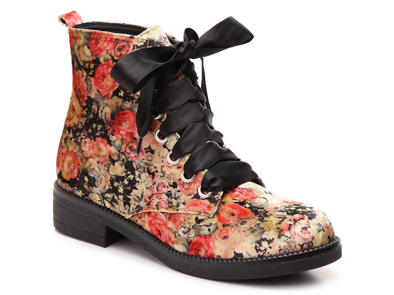 7de8742614fb Dirty Laundry Stefan Velvet Bootie Women s Shoes