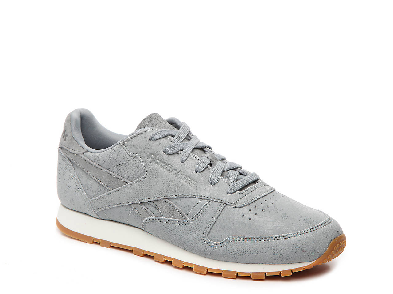 Reebok Classic Leather Clean Exotics Sneaker - Women s Women s Shoes ... 7aa10678e
