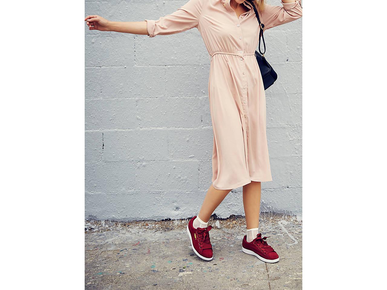 puma vikky ribbon women's sneakers
