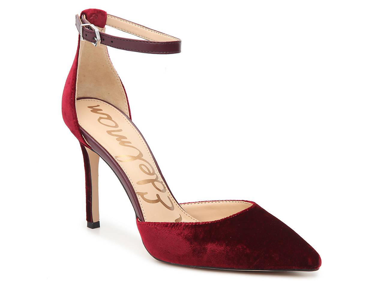 09cde930d Sam Edelman Harlow Velvet Pump Women s Shoes