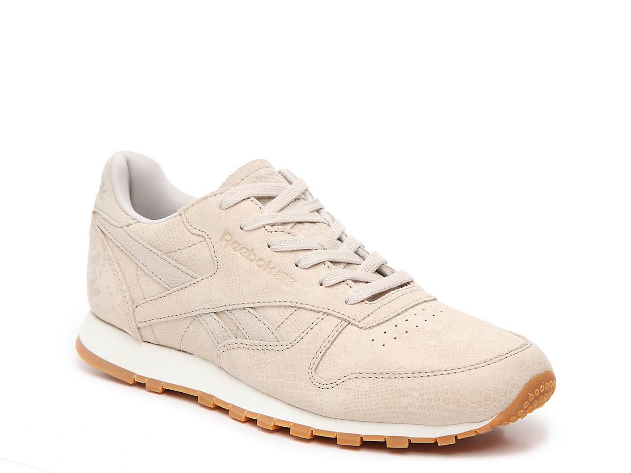 15551e28a5b Reebok Classic Leather Clean Exotics Sneaker - Women s Women s Shoes ...
