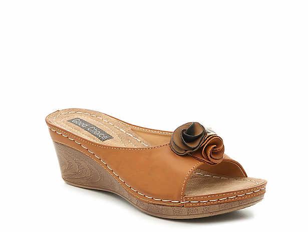 897141d7b39a GC Shoes. Sydney Wedge Sandal