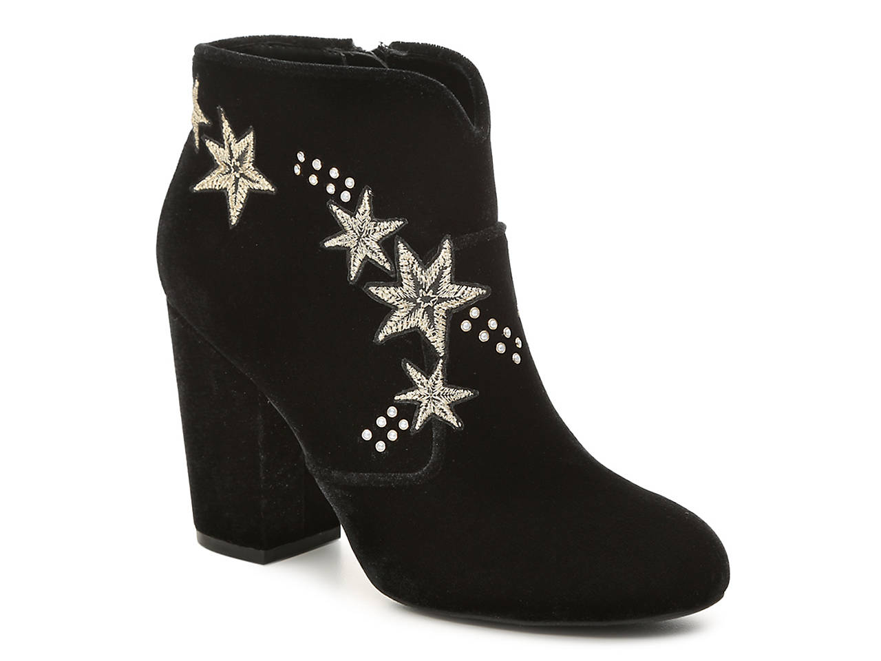 b4ff1f994f94 Mix No. 6 Izadora Velvet Bootie Women s Shoes
