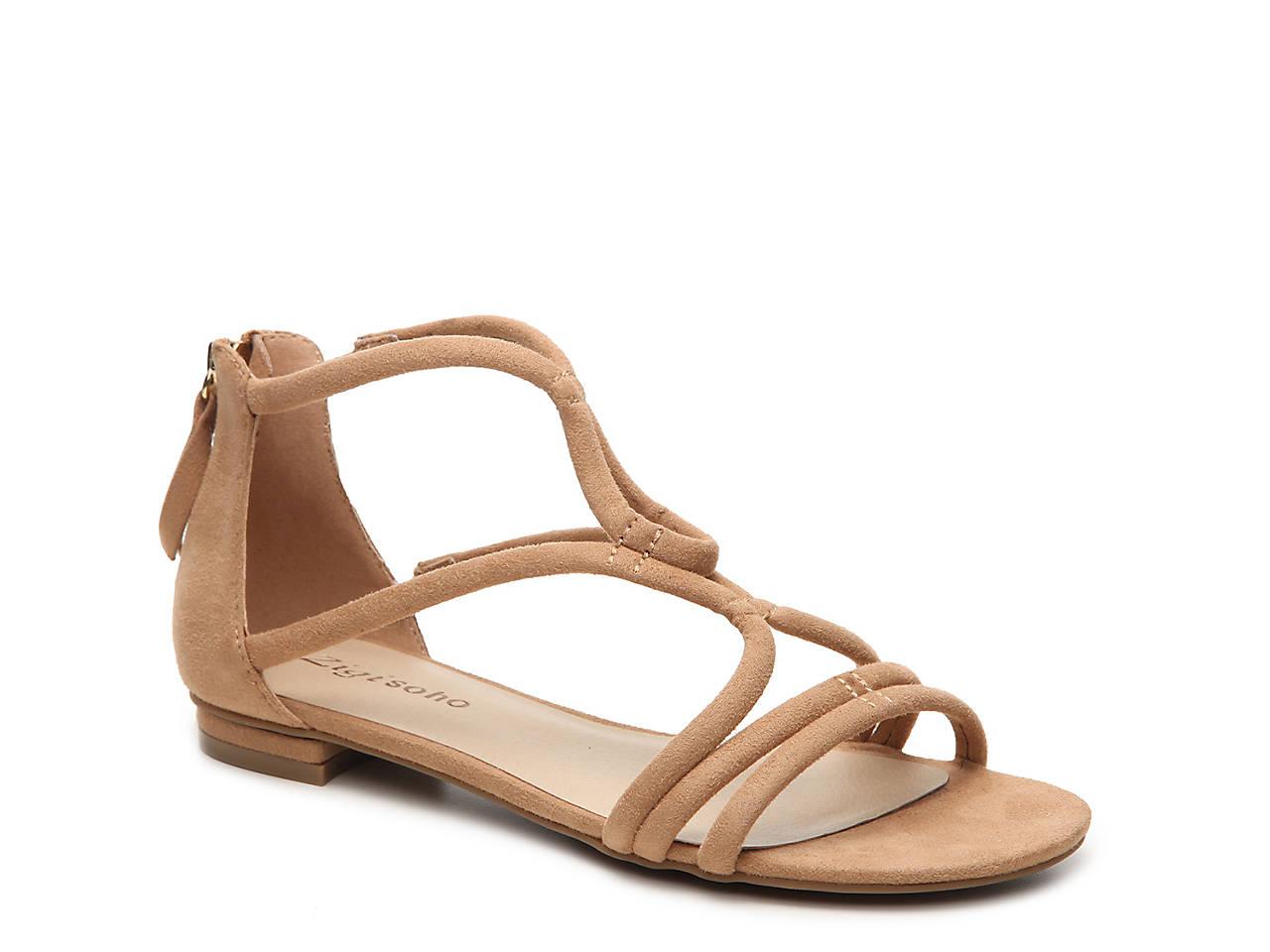 cd56f23bafeb Zigi Soho Pierre Flat Sandal Women s Shoes