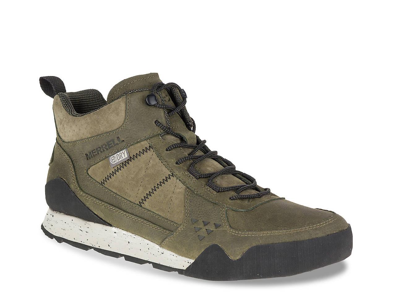 202bf99c71cfc Merrell Burnt Rock Hiking Boot Men's Shoes | DSW