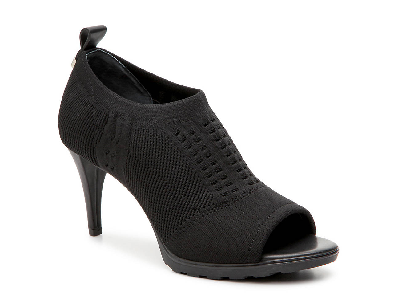 Calvin Klein Collection Peep-Toe Platform Ankle Booties Particular Discount 4q7OEOGu0