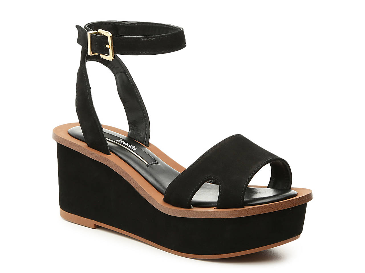 4f2f3967b1a Kensie Tray Wedge Sandal Women s Shoes