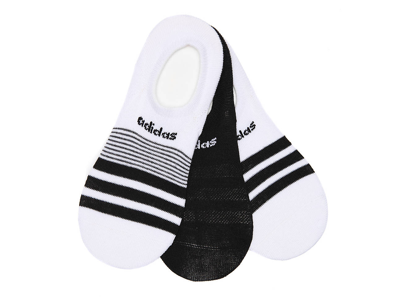 bbed86f0ffaf adidas Superlite Women s No Show Socks - 3 Pack Women s Handbags ...