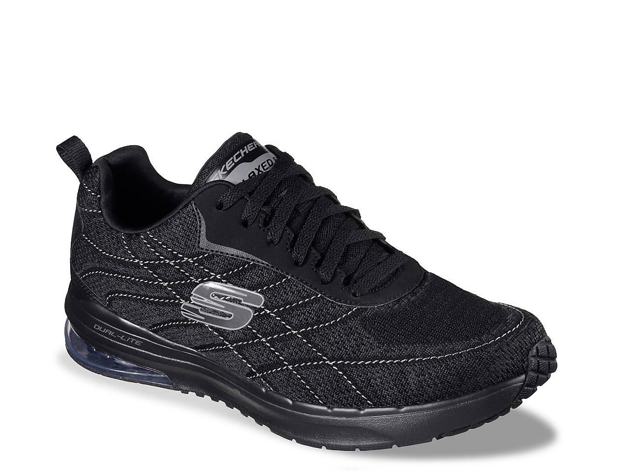 Som Skechers Skech Air Infinity Belden Charcoalred Ankle if4Ew