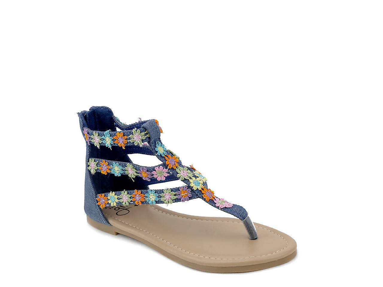 159f11ca0a Olivia Miller Hippie Toddler & Youth Sandal Kids Shoes | DSW