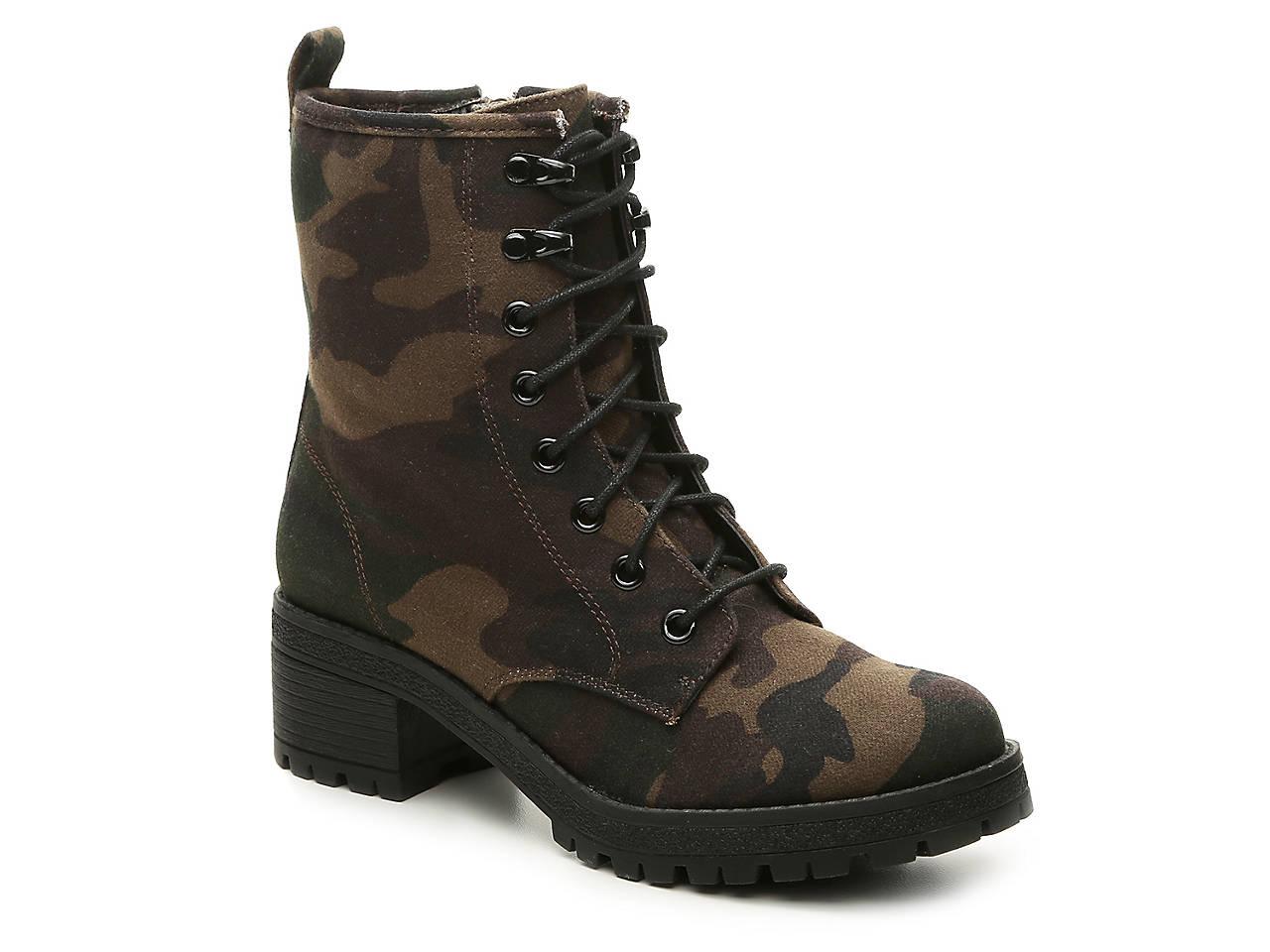 Camo Combat Boot