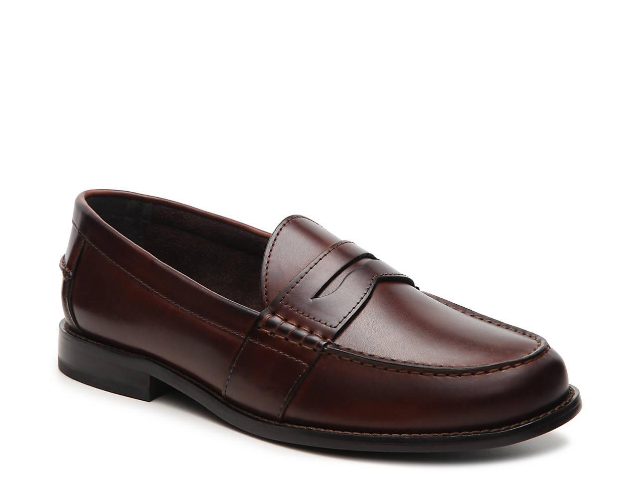 Nunn Bush Noah Men's Leather ... Penny Loafers S876DHru
