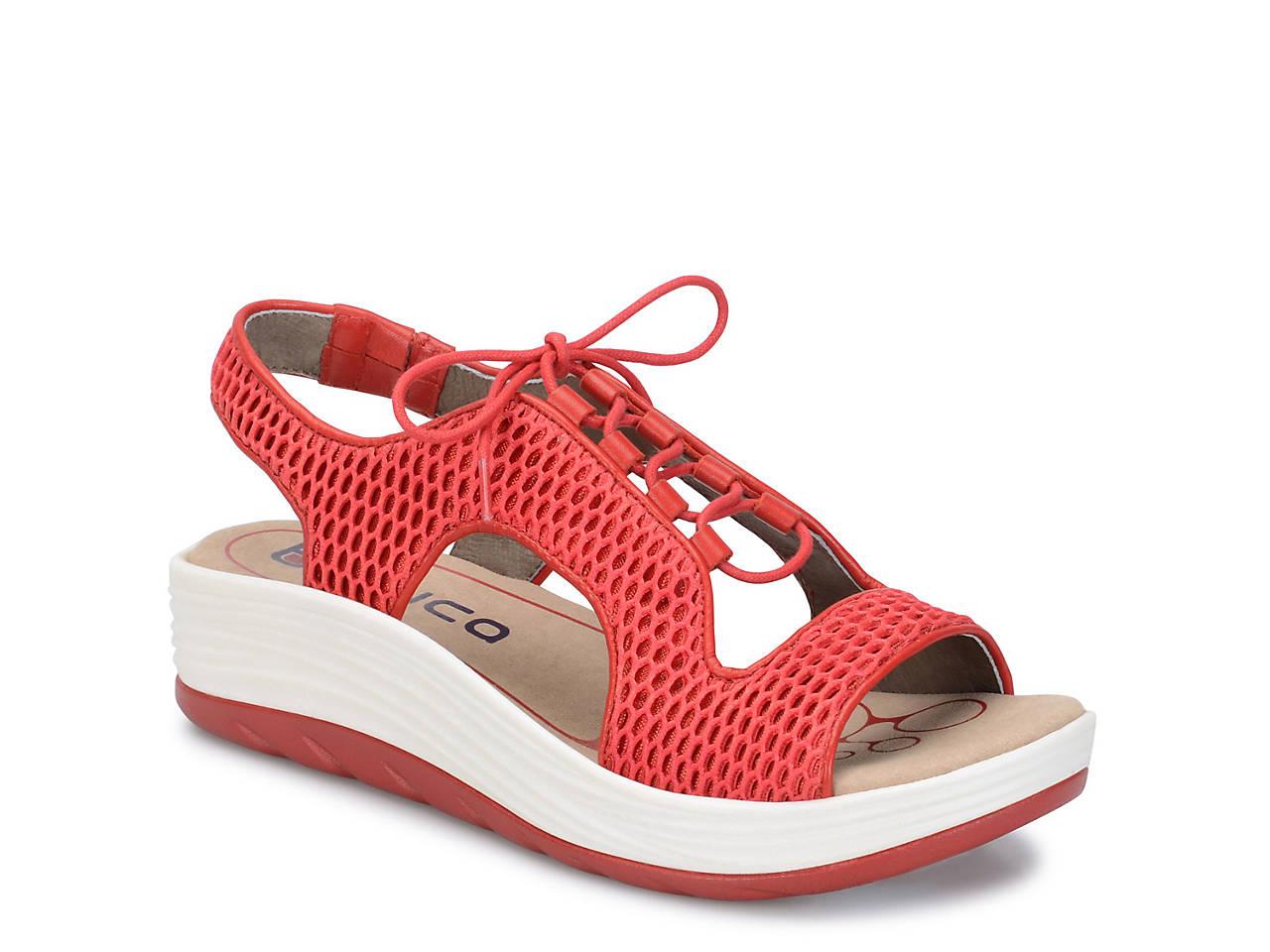 89f4c5175cd2 Bionica Cosmic Wedge Sandal Women s Shoes