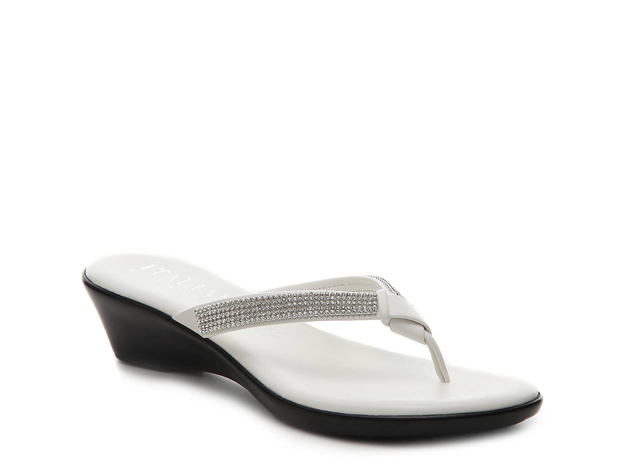 Italian Shoemakers Ivory Sandal