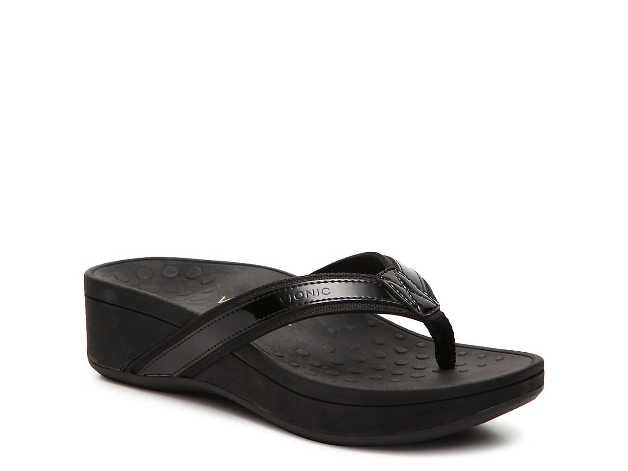 The Heel Shoe Fitters | Vionic High Tide – Black