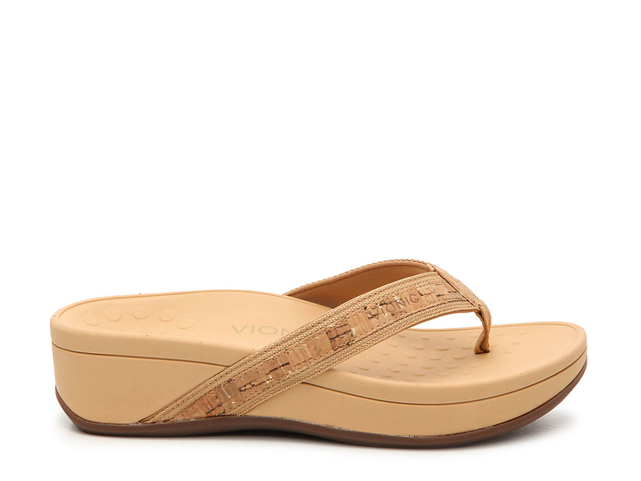 77210a551064 Vionic High Tide Wedge Sandal Women s Shoes