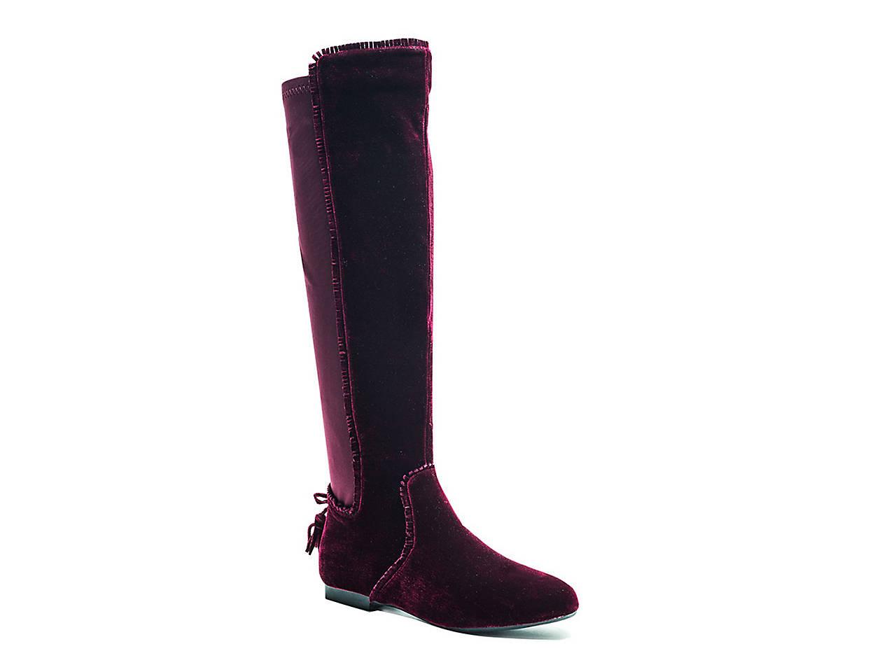 1c94cb5b06f0 GC Shoes Delilah Velvet Boot Women s Shoes