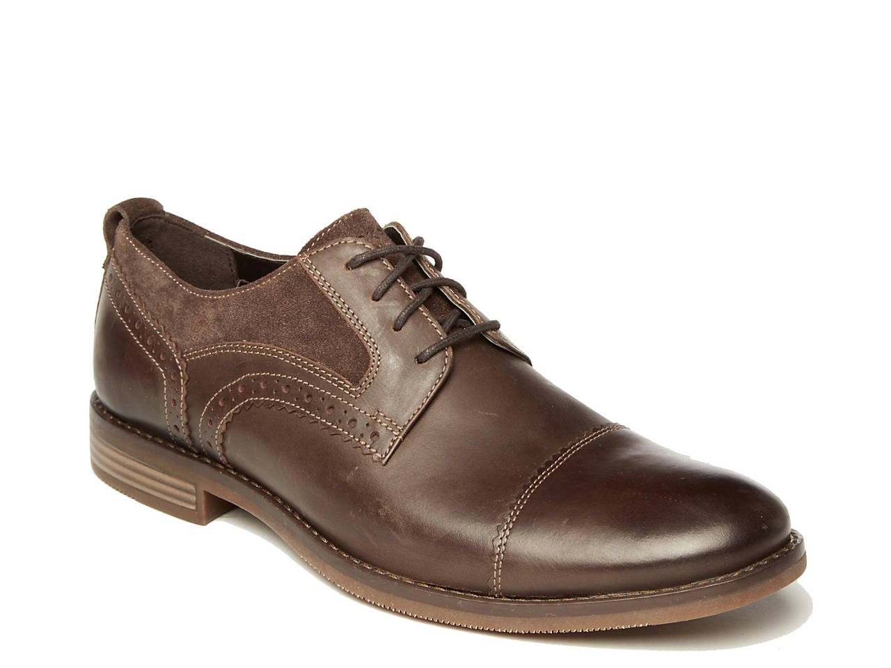 383f8b1211798 Rockport Wynstin Cap Toe Oxford Men's Shoes | DSW