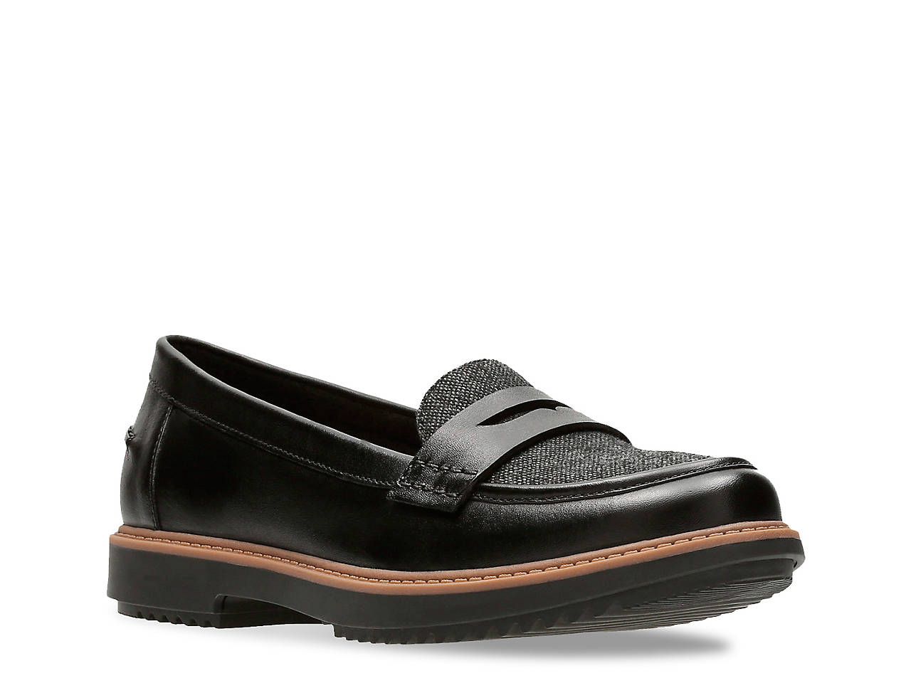 clearance perfect Clarks Leather Slip-on Loafers - Raisie Eletta sale pay with visa RoacwbG08