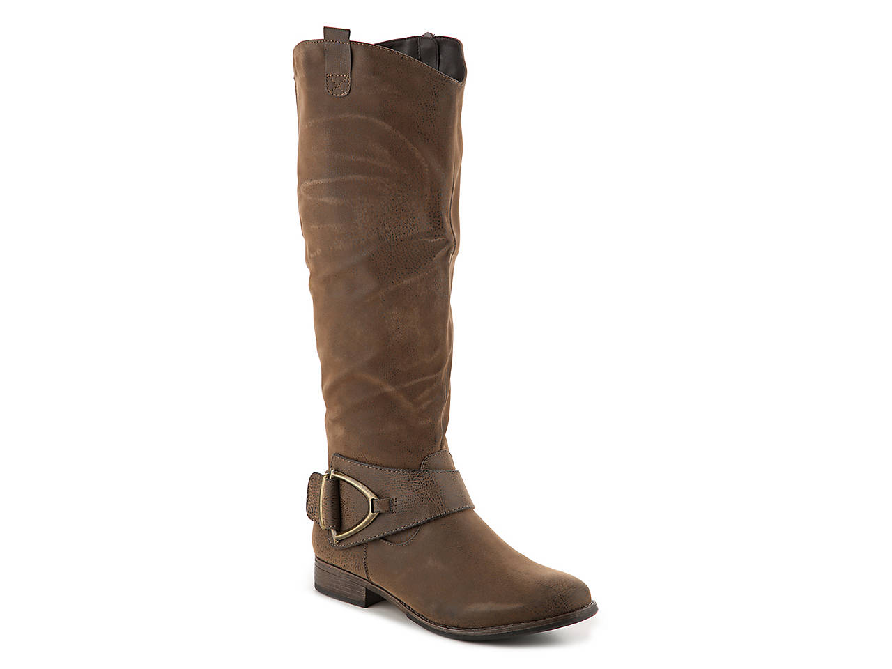 ee1e3daf8279 Crown Vintage Bella Wide Calf Riding Boot Women s Shoes