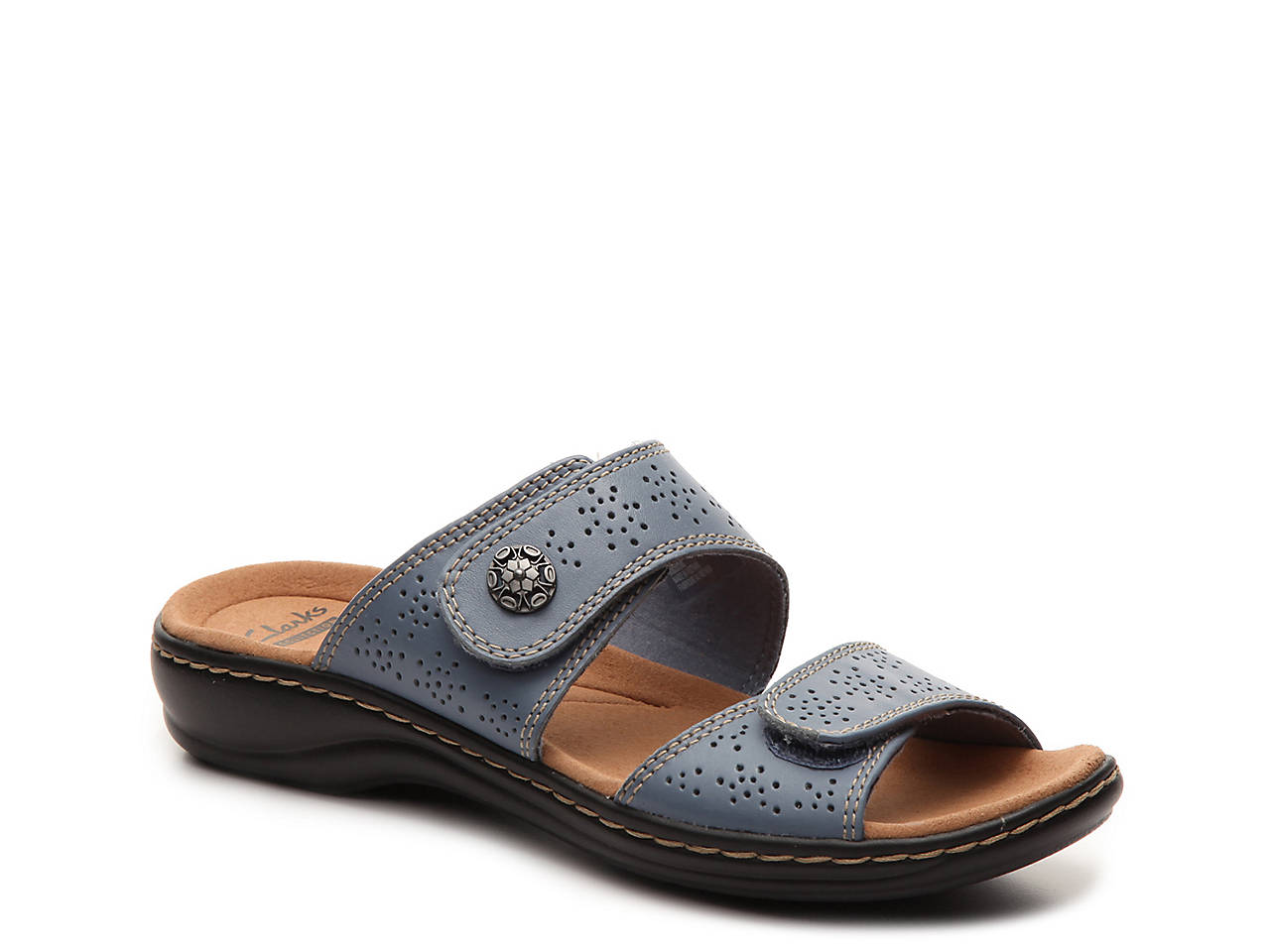 65593abfcfce Clarks Leisa Lacole Slide Sandal Women s Shoes
