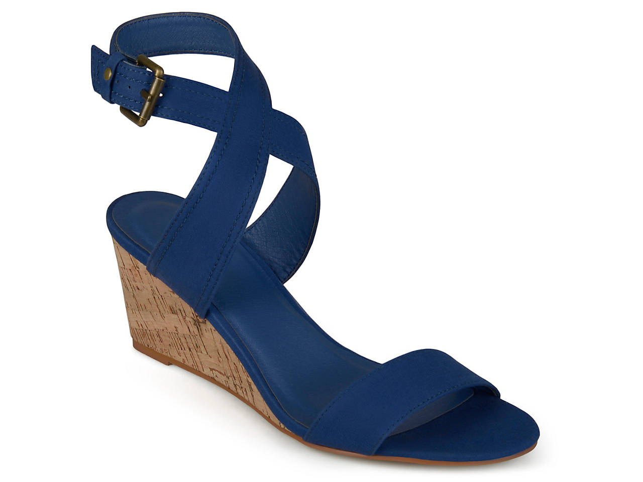 8904cb985e31 Journee Collection Kaylee Wedge Sandal Women s Shoes