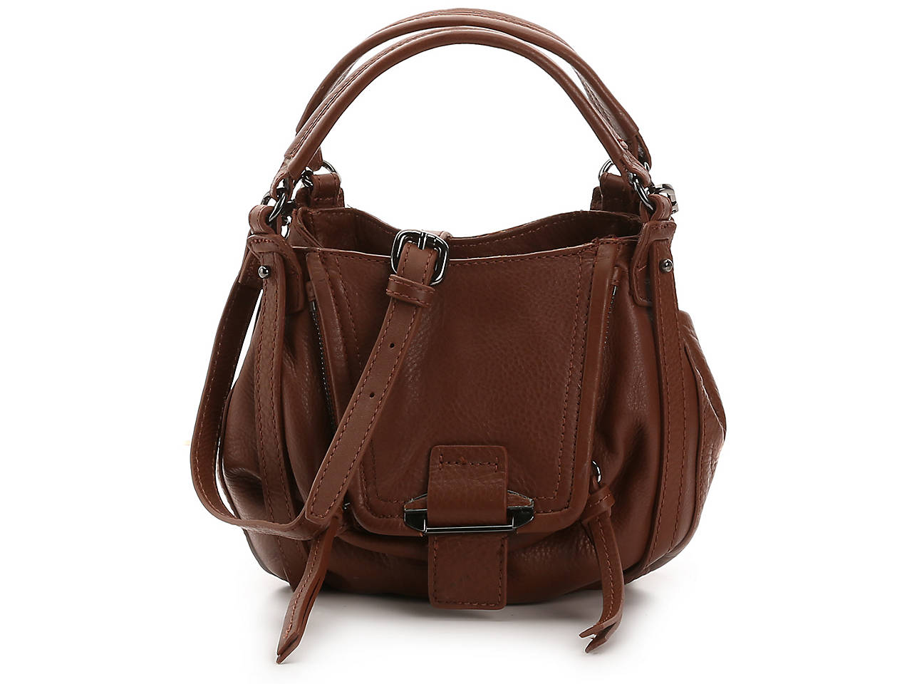 Mini Jonnie Leather Shoulder Bag