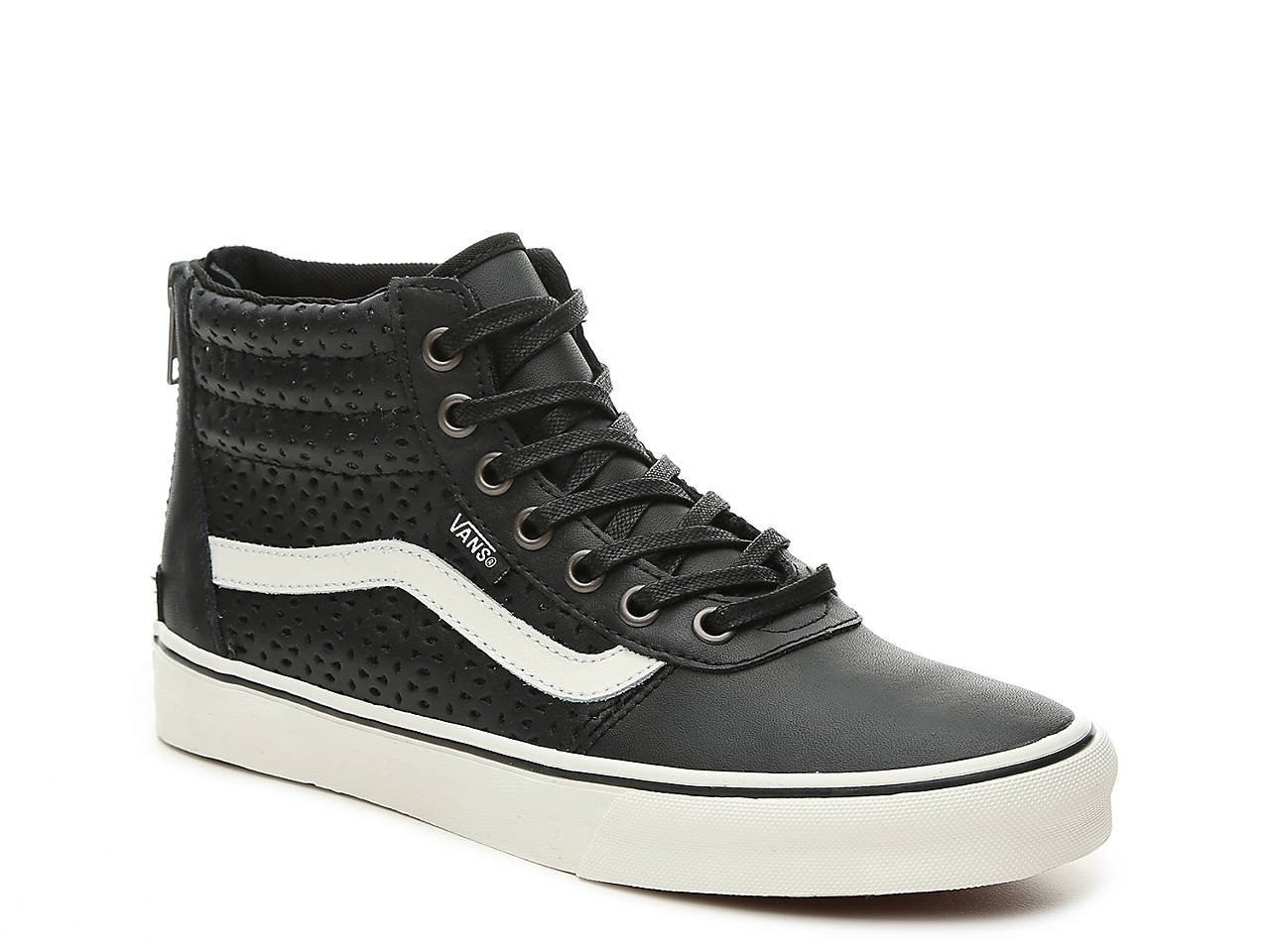 Vans Milton Mens High Top Skate Shoes