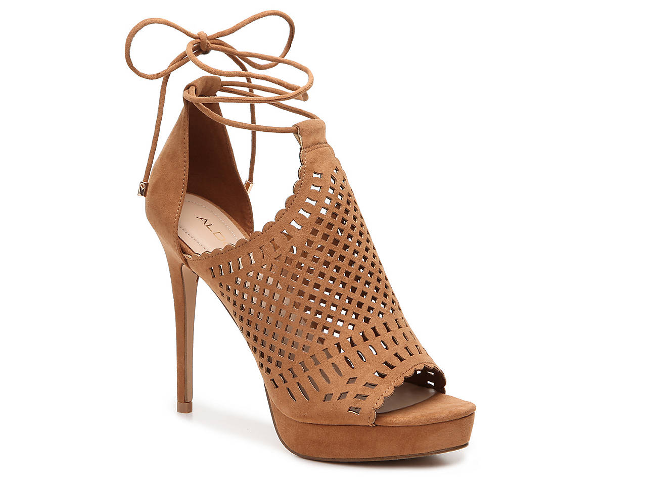 ALDO RILLEY - High heeled sandals - cognac X71mEA