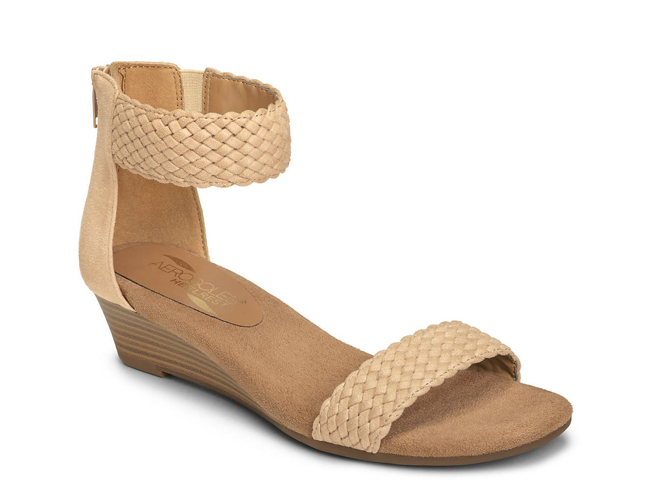 Aerosoles Yetroactive Wedge Sandal Womens Shoes