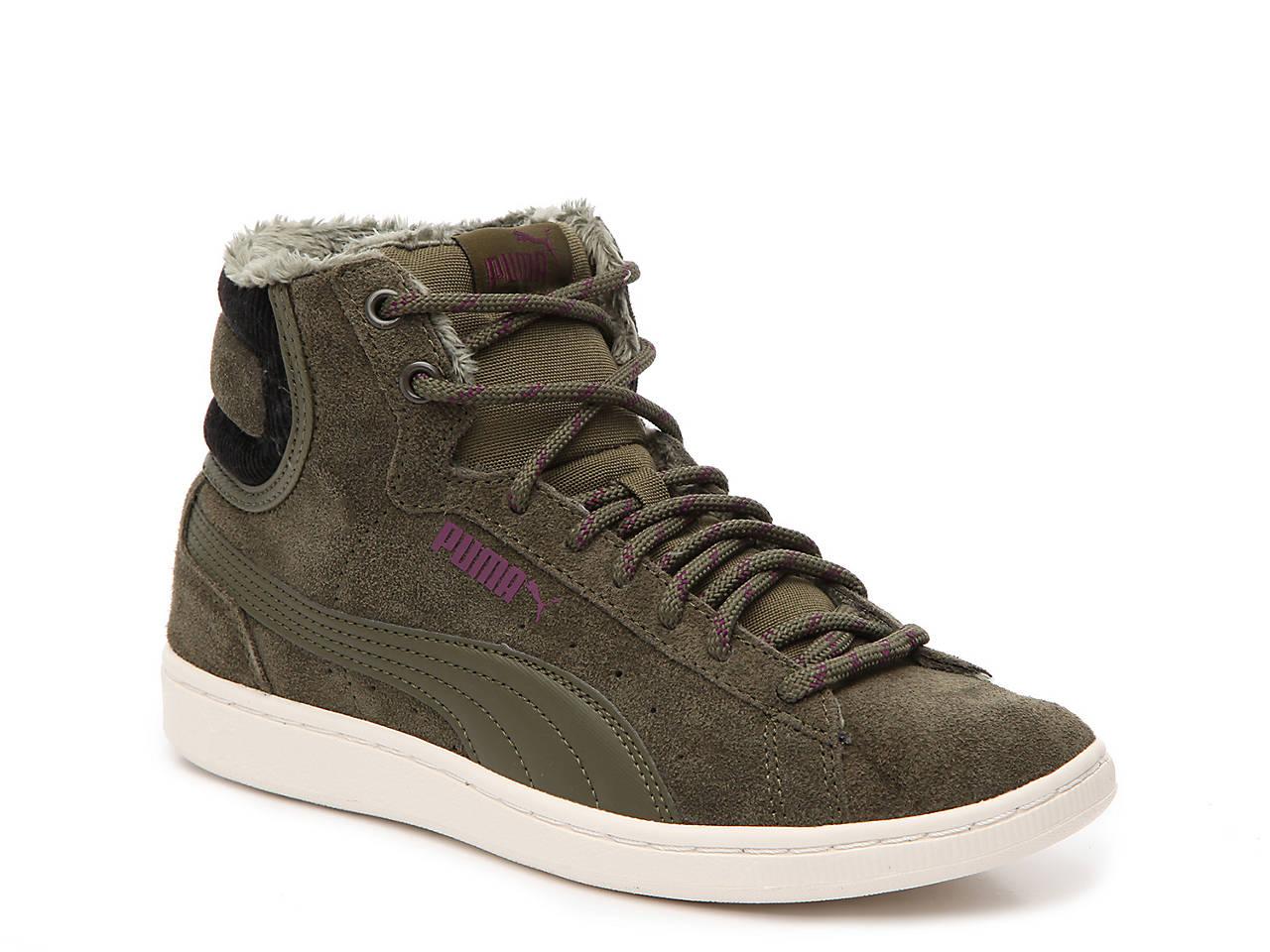 2886d465afb4c5 Puma Vikky Mid Corduroy High-Top Sneaker - Women s Women s Shoes