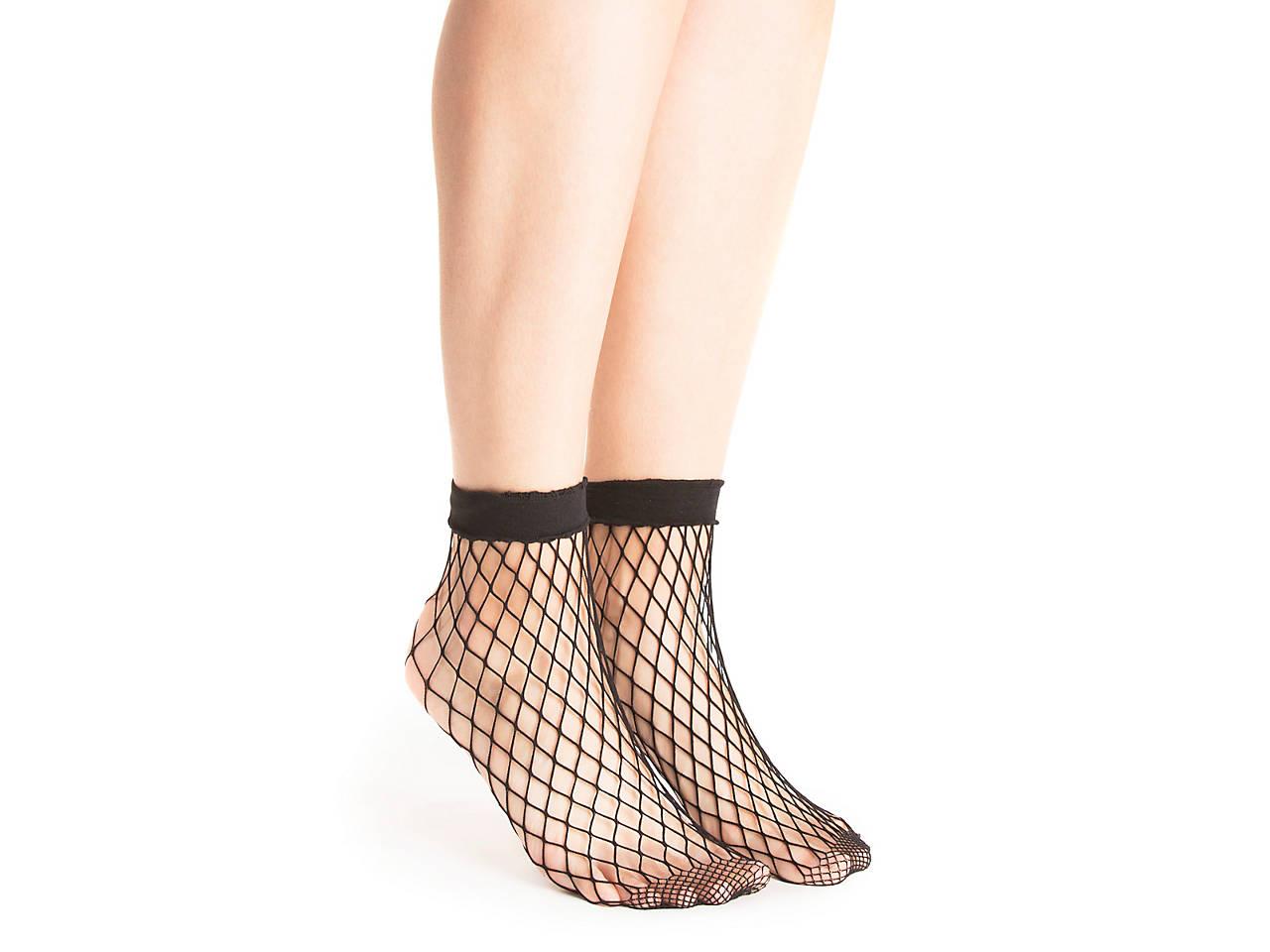 Fishnet Womens Ankle Socks
