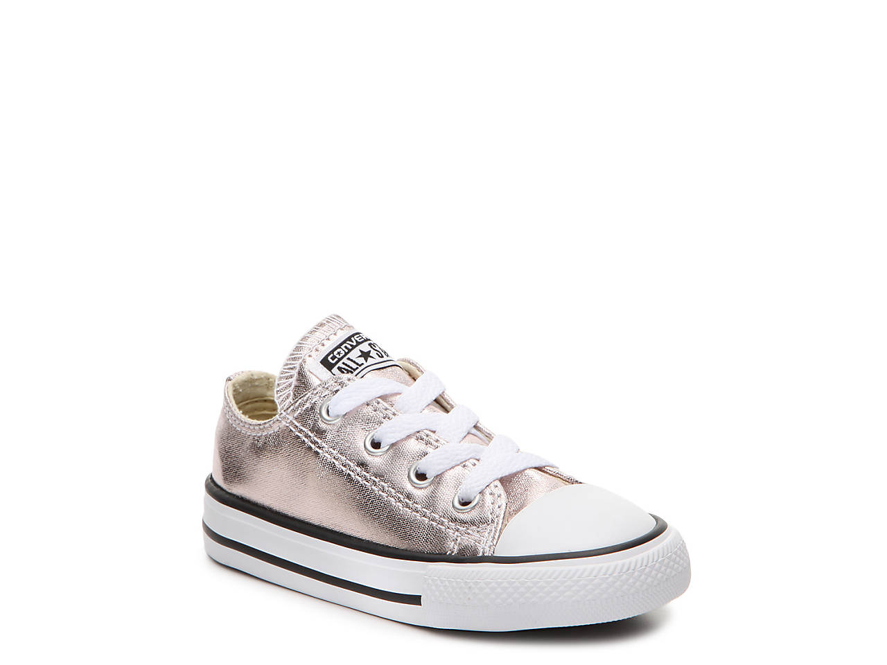 af61f61da4b5 Converse Chuck Taylor All Star Metallic Toddler Sneaker Kids Shoes