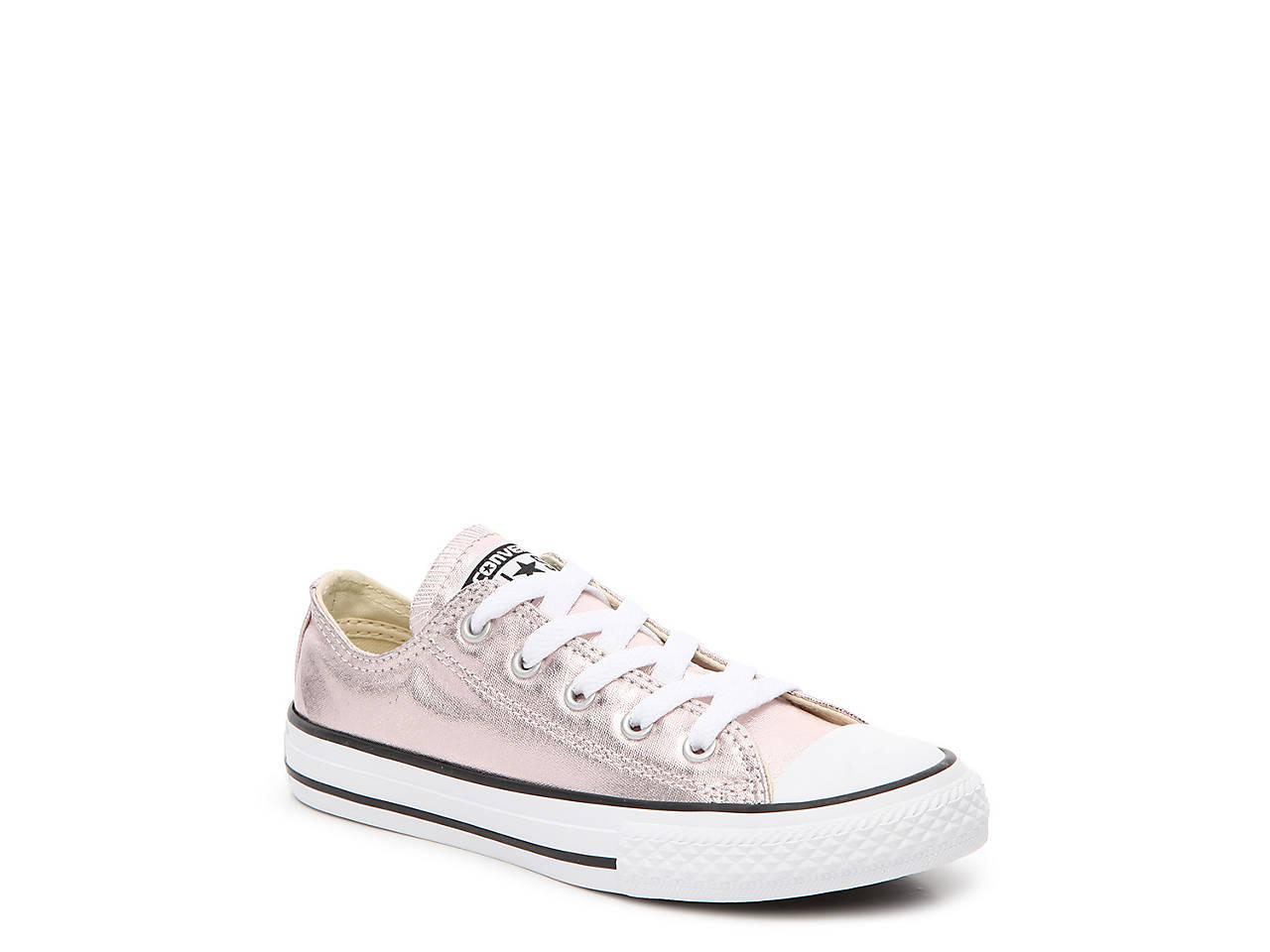 3d95d69d255 Converse Chuck Taylor All Star Toddler   Youth Metallic Sneaker Kids ...