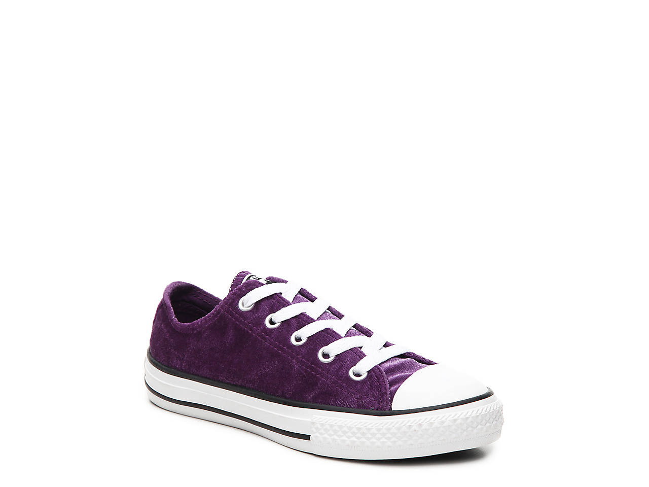 ec5ebfb5fd8a Converse Chuck Taylor All Star Velvet Toddler   Youth Sneaker Kids ...