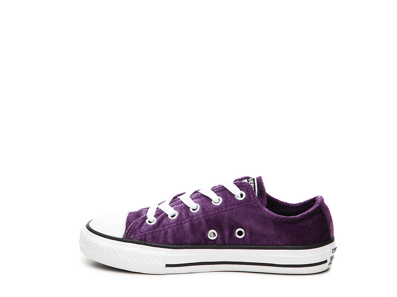6f573dcf50fa Converse Chuck Taylor All Star Velvet Toddler   Youth Sneaker Kids ...