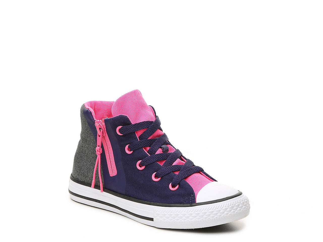 3c411d793219 Converse. Chuck Taylor All Star Sport Zip Toddler   Youth High-Top Sneaker