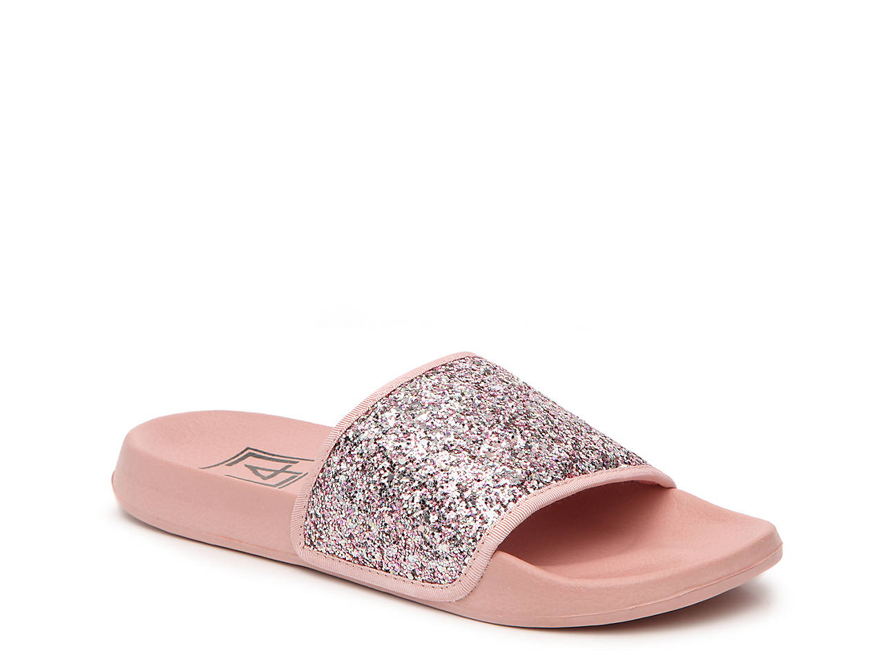 5a350af4a84335 LFL Sparkle Slide Sandal Women s Shoes