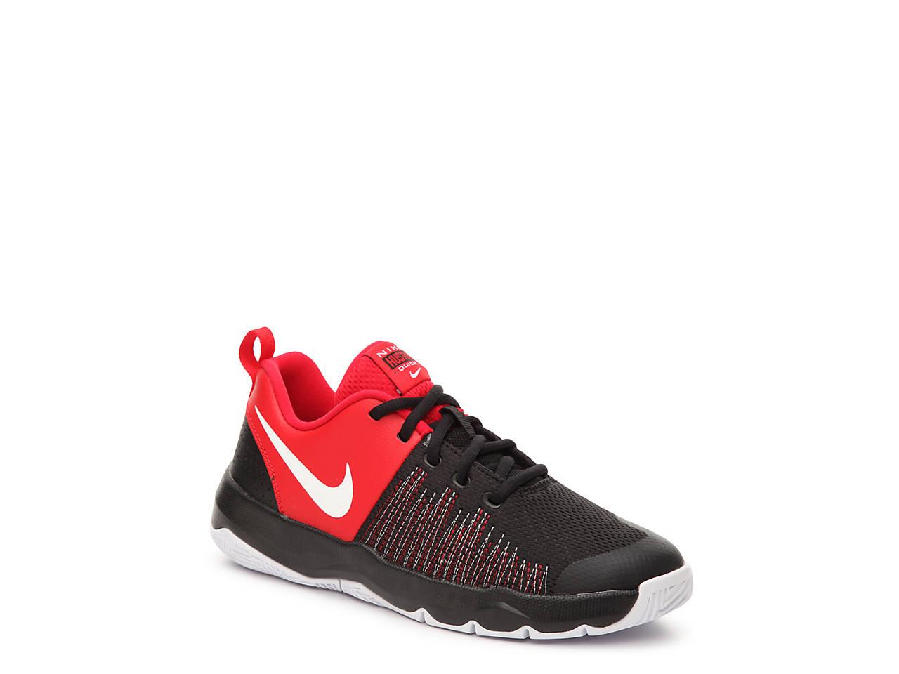0ded2dae7da5 Nike Team Hustle Quick Youth Basketball Shoe Kids Shoes