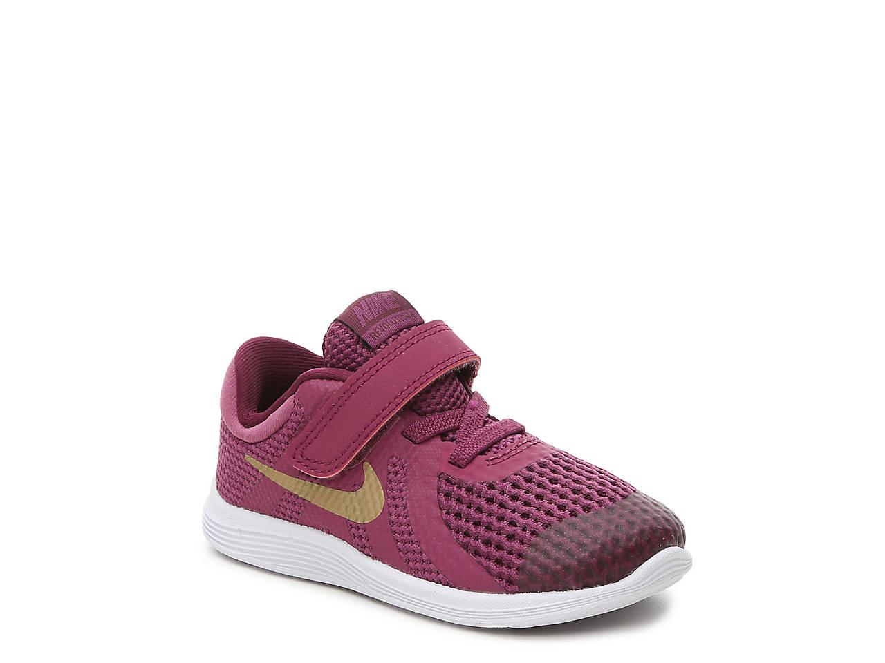 64308f1f5d70 Nike Revolution 4 Infant   Toddler Running Shoe Kids Shoes