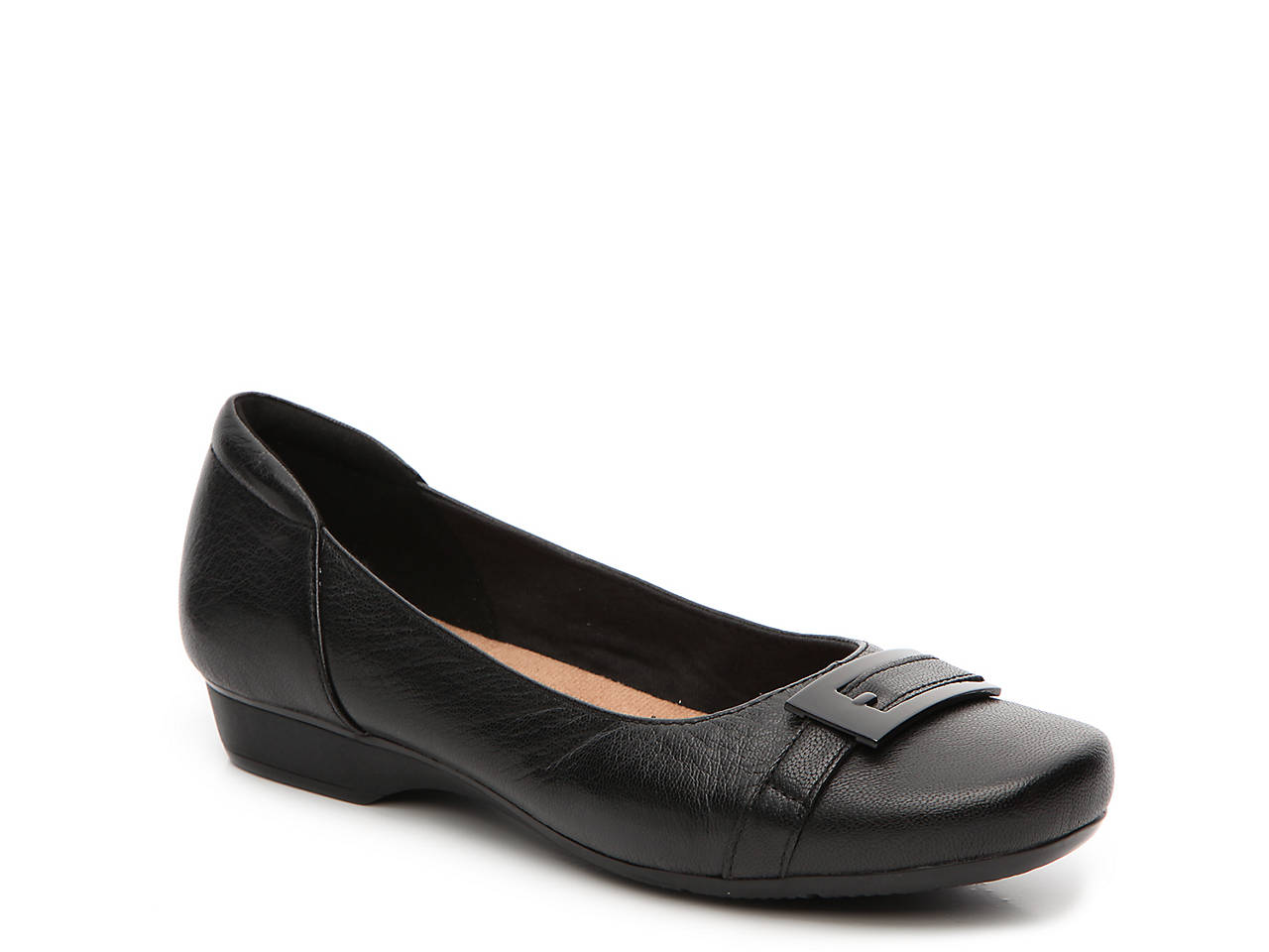 0baa9e5381736 Shoes Clarks Womens Blanche West Flat