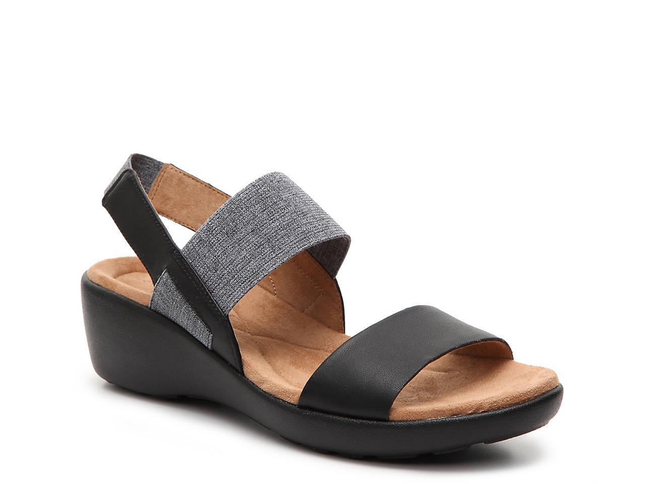 4fcfce46add8 Easy Spirit Kaffi Wedge Sandal Women s Shoes
