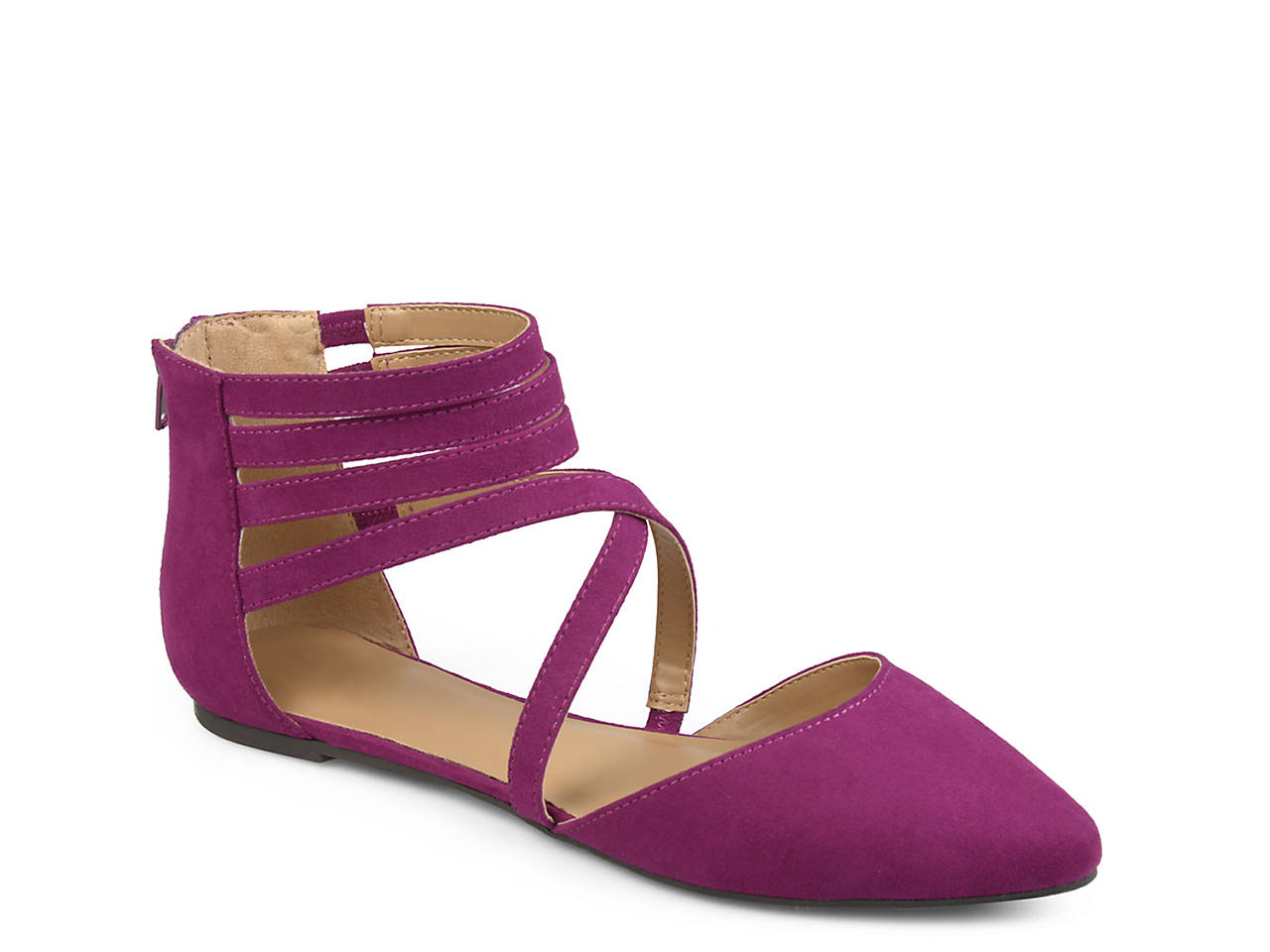 Journee Collection Marlee ... Women's Pointed Flats wu9f4Mqh1