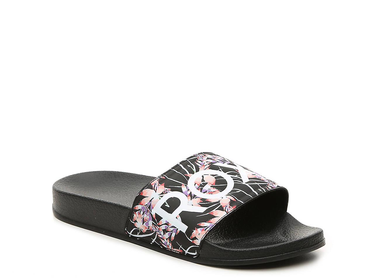 39753cf1912 Roxy Slippy Slide Sandal Women s Shoes
