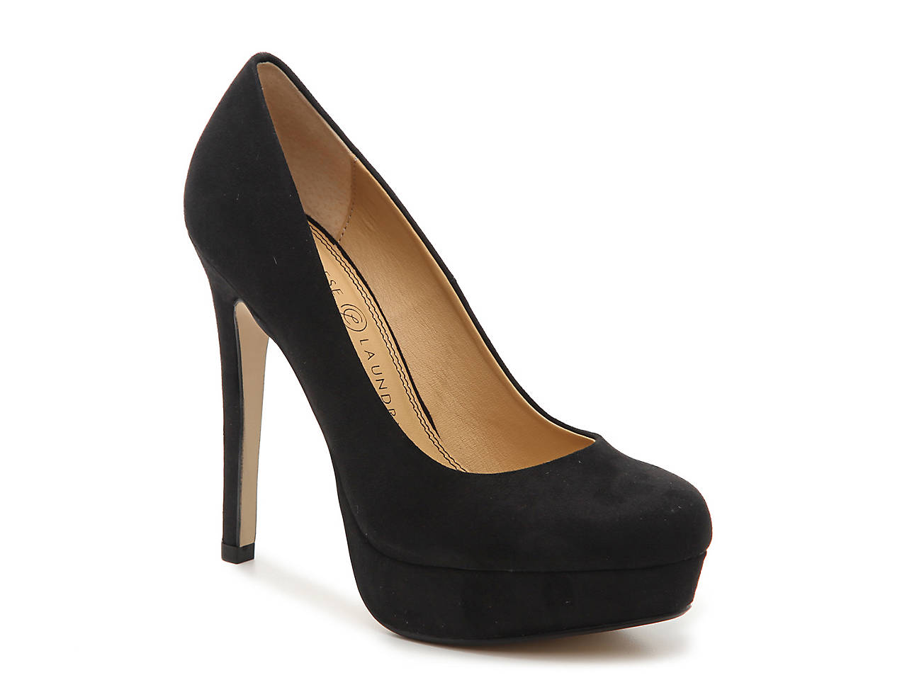 Payless Shoes Round Toe Platform Pumps
